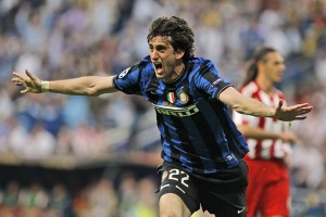 Diego Milito, el héroe de la final de la Champions
