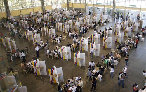 Elecciones en Colombia. Foto: Reuters