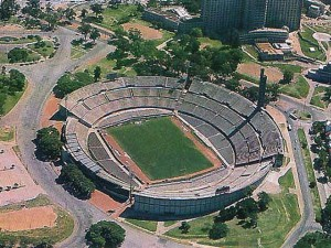 El estadio Centenario de Montevideo