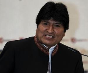Evo Morales llama a frenar deterioro ambiental