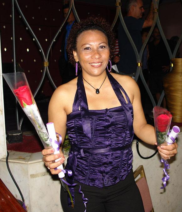 Maria Victoria, cantante del catálogo de Bis Music, nominada al Cubadisco 2010