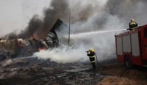 Incendio en Golán provocado por Israel