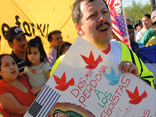 14 estados estarían preparando legislaciones antiinmigrantes en Estados Unidos