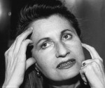 """La escritora Elfriede Jelinek, autora de """"La pianista""""."""