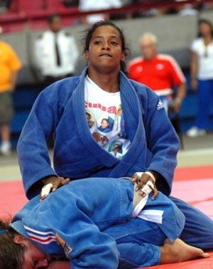 El judo femenino en la Olimpiada del Deporte Cubano, 2010