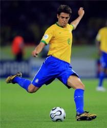 Kaká, la estrella de Brasil