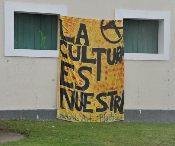 Mensaje de los estudiantes: La cultura es nuestra