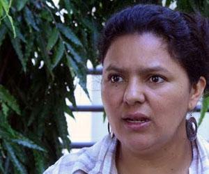 Líder indígena hondurena, Berta Cáceres