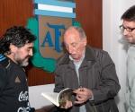 Maradona, Calica y Alejandro Wall