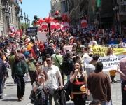 Marcha en Madrid organizada por la Cumbre Alternativa de los Pueblos-Enlazando Alternativas IV