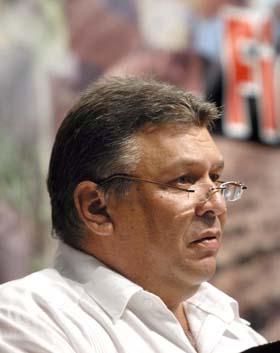 Marino Murillo, Vicepresidente del Consejo de Ministros y Ministro de Economía. Foto de Ricardo López Hevia-Periódico Granma