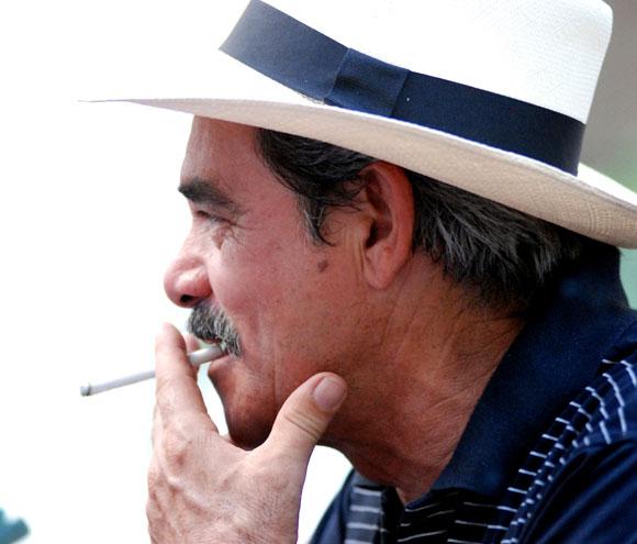 Rostro de cubano en la Habana Vieja, Cuba, el 27 de mayo de 2010. AIN Foto: Yaciel PEÑA DE LA PEÑA