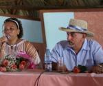 María Victoria Rodríguez y Pancho Amat contaron sobre el surgimiento de la idea del disco. Foto: Marianela Dufflar / Cubadebate
