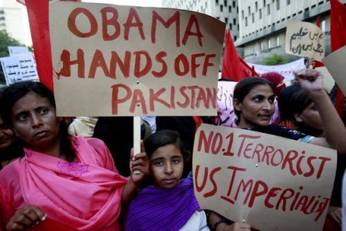 Terrorismo de EEUU contra Pakistán