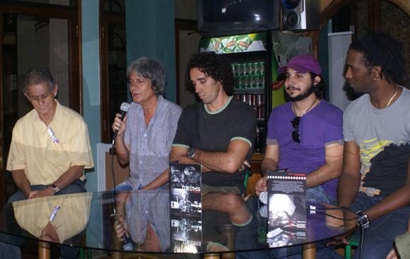 Presentación del CD-DVD Drums La Habana de Oliver Valdés y Rodney Barreto. Foto: Marianela Dufflar / Cubadebate