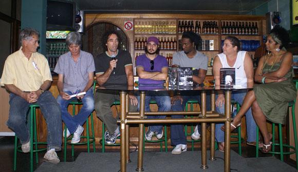 Presentación del CD-DVD Drums La Habana de Oliver Valdés y Rodney Barreto, bajo la dirección de Enrique Carballea y producido por el sello discográfico Bis Music. Foto: Marianela Dufflar / Cubadebate