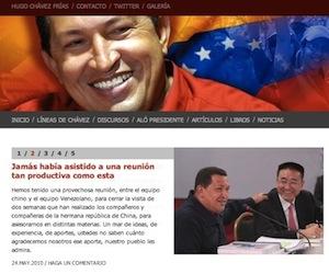 Batalla mediática de Chávez en todos los espacios