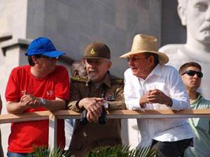 Acto del 1ro de Mayo en Cuba