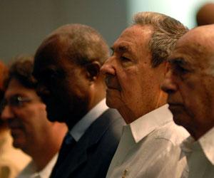 Preside Raúl Castro, en La Habana, acto por el Día de Africa