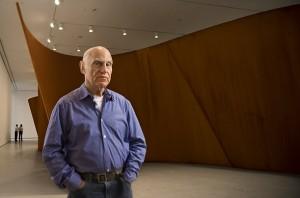 El escultor norteamericano Richard Serra
