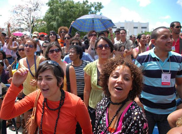 Romerías de Mayo en la ciudad de Holguín, Cuba. Foto: Kaloian