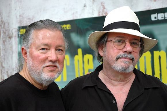 Con Roy Brown. Foto: Kaloian