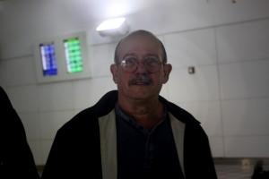 Silvio al llegar a tierra boricua    Fotografía Santos Hernández