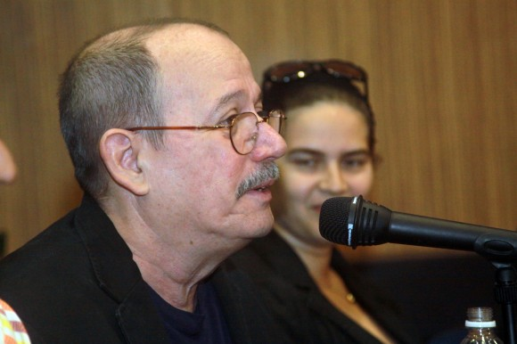 Silvio Rodríguez y Niurka González Foto: Santos Hernández