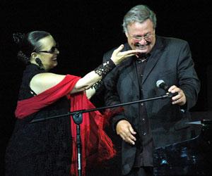 Concierto de Martirio y José María Vitier. Foto: Kaloian