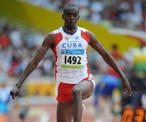 Copello lidera podio 100% cubano en el triple salto de Mondeville