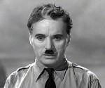 """Charles Chaplin en """"El gran dictador"""""""