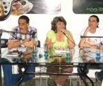 Conferencia de Prensa donde fue anunciada la XI edición de la Feria Arte en la Rampa