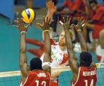 Cuba vs Polonia, Liga Mundial de Voleibol. Foto: Calixto N. Llanes