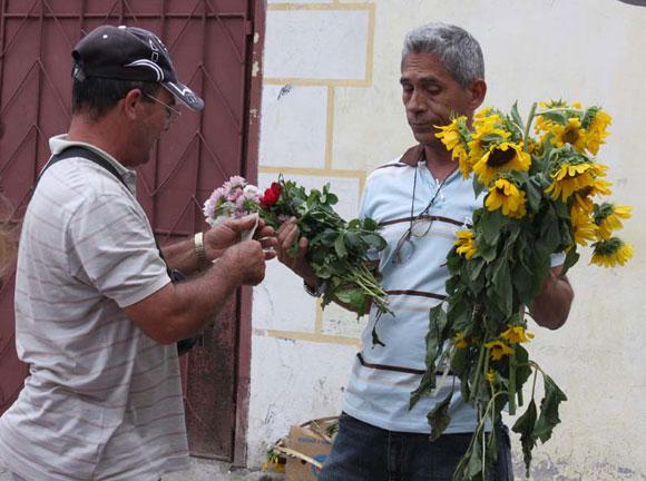 Entre flores. Foto: 10K
