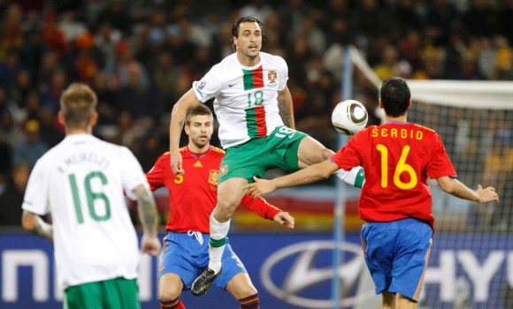 Espana Vs Portugal En Copa Mundial De Futbol