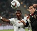 Gana frente Alemania. Foto: Reuters