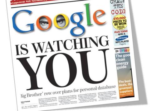 """Según The Wall Street Journal, después que sus periodistas contactaron a Google acerca de este asunto """"Google desactivó la codificación""""."""