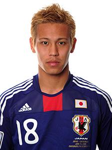 Keisuke Honda, Japón