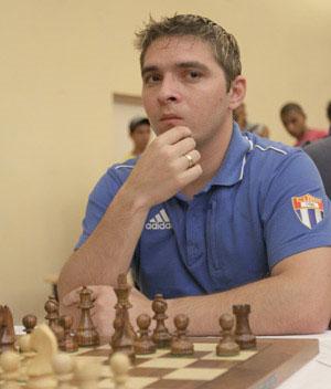 Lázaro Bruzón es el jugador con menos Elo en el grupo Élite. Foto: Daniel Anaya
