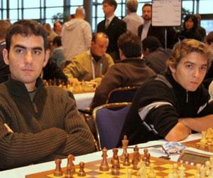 Leinier Domínguez y Lázaro Bruzón