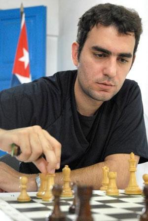 Leinier Domínguez siente la presión de sus seguidores. Foto: Juan Pablo Carreras