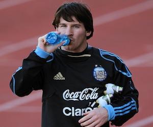 Messi fubolista argentino