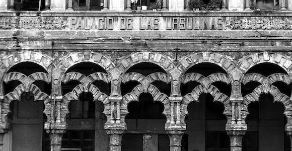 """""""Columnas"""" de Liborio Noval: El Palacio de las Ursulinas, La Habana Vieja"""
