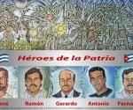 Mural Cinco Héroes