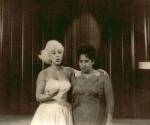 Rosita Fornés (izquierda) y Tania Castellanos. Foto: Archivo