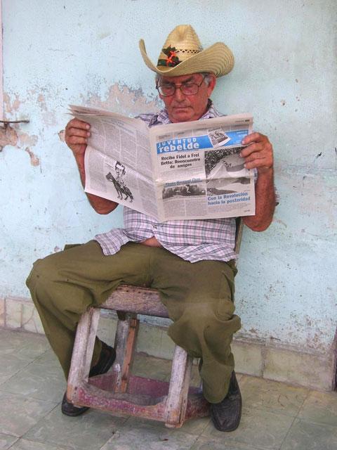 Con Sombrero de Yarey. Foto: Yahily Hernández Porto