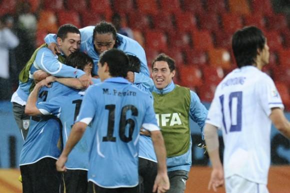 Sudáfrica 2010: Derrota Uruguay a Sudcorea y clasifica a cuartos de final