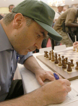 Vassily Ivanchuk juega a gusto en La Habana. Foto: Daniel Anaya