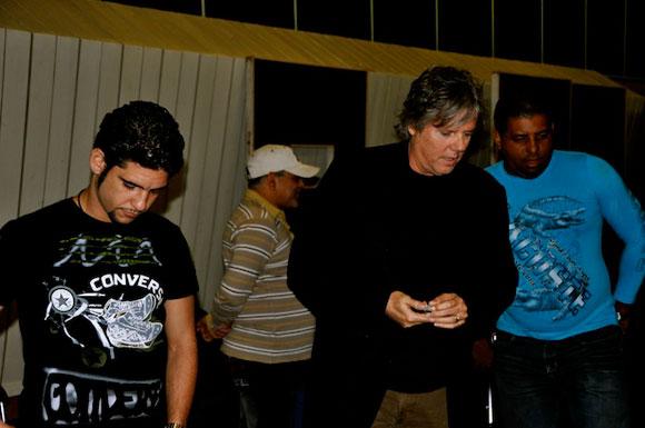 """Alejandro García """"Virulo"""" en """"Con 2 que se quieran"""". Foto: Peti"""