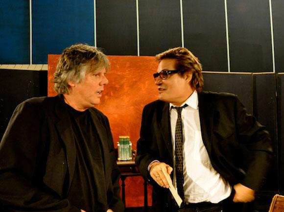 """Vrulo y Amaury en """"Con 2 que se quieran"""". Foto: Peti"""
